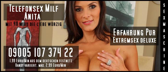 92 Telefonsexmilf Anita - 0900 Telefonsex Extrem