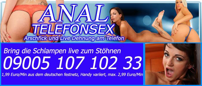 80 Telefonsex Anal - Die Arschfick Line