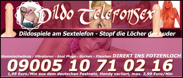 186 Dildo Telefonsex - Dildospiele am Sextelefon