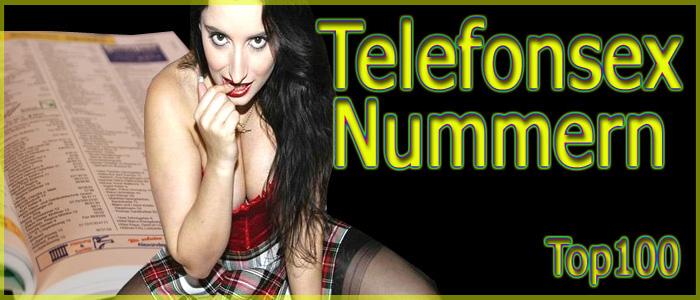 55 Telefonsexnummern zu hemmungslosen Telefonsex Bitches